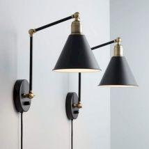 Living Room Wall Lamps Idea