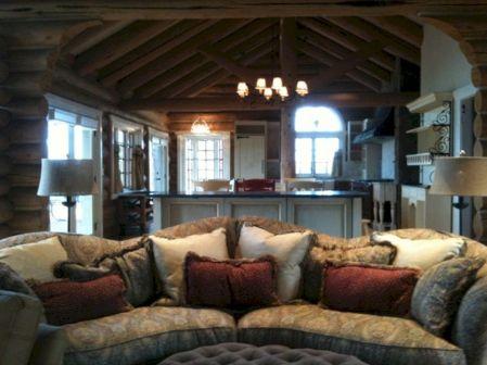 Log Cabin Living Room