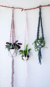 Macrame Plant Hanger Instruction
