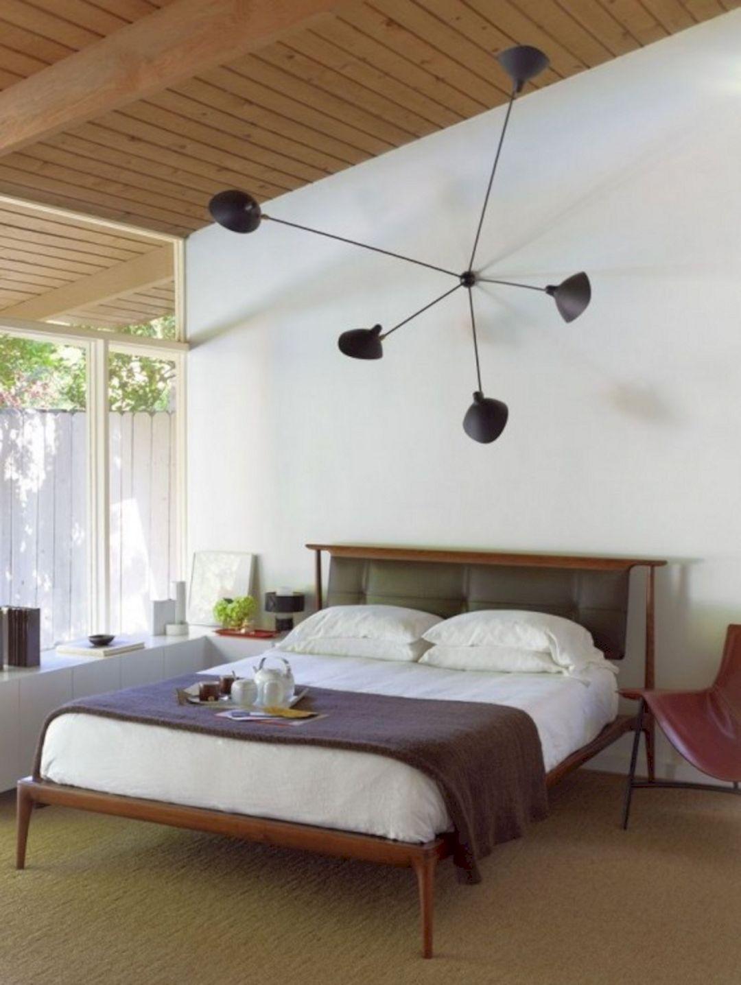 Mid-Century Modern Bedroom Design
