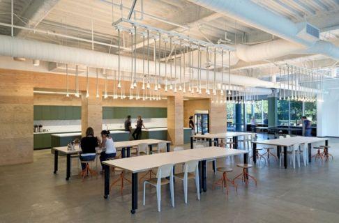 Office Interior Design Cafeteria