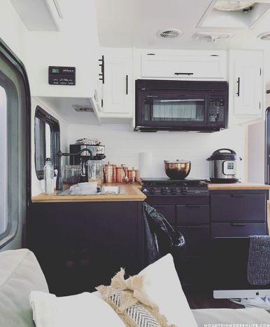 RV Camper Kitchen Cabinet