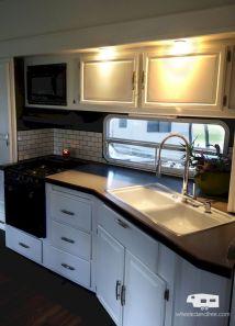 RV Kitchen Renovation Idea