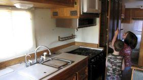 RV Kitchen Renovation