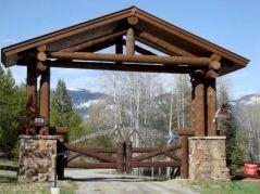 Ranch Gate Entrance Design Ideas