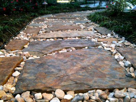 Rock Landscaping Ideas around Pool