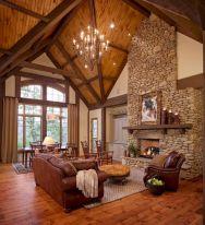 Rustic Living Room Design Idea