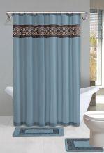 Shower Curtain Bathroom Rug Sets
