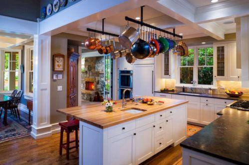 Craftsman Kitchen Island