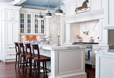Hamptons Style White Kitchen