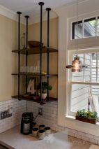 Industrial Pipe Shelf Kitchen