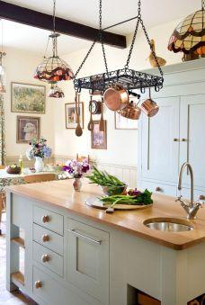 Kitchen Pot Rack Ideas