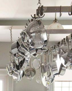 Kitchen Pot and Pan Hanging Rack