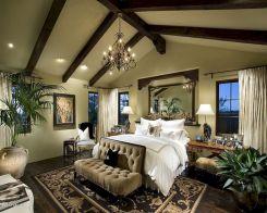 Master Bedroom with Chandelier