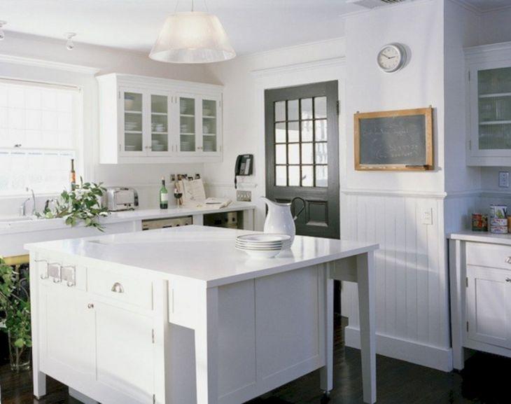 White Kitchen with Beadboard