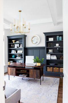 Beautiful Home Office Design 112