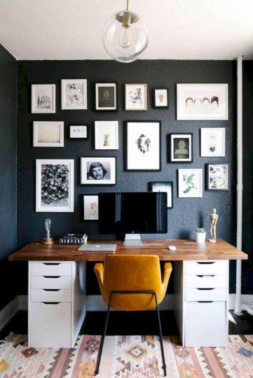 Beautiful Home Office Design 126