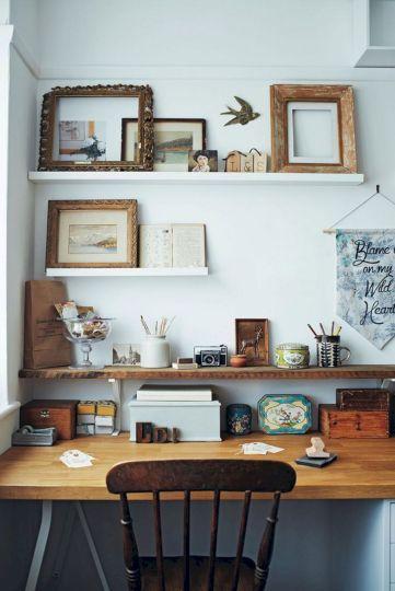 Beautiful Home Office Design 127