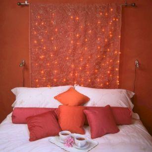 Bedroom Fairy Lights Romantic Design
