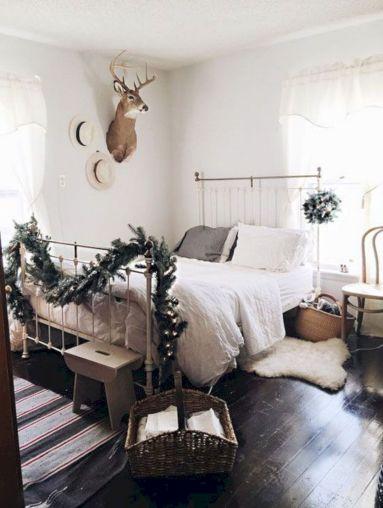 Christmas Bedroom Decoration Design