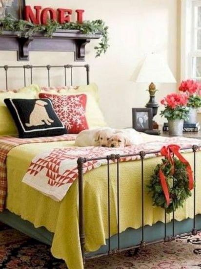 Christmas Bedroom Designs