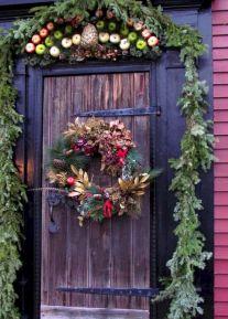 Colonial Williamsburg Christmas Door Decorations