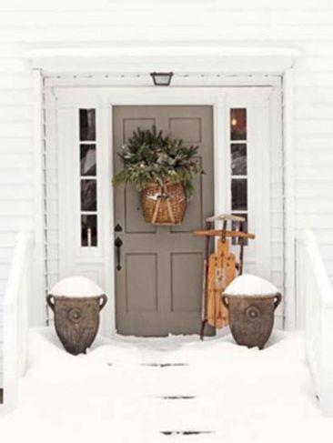 Country Christmas Front Door