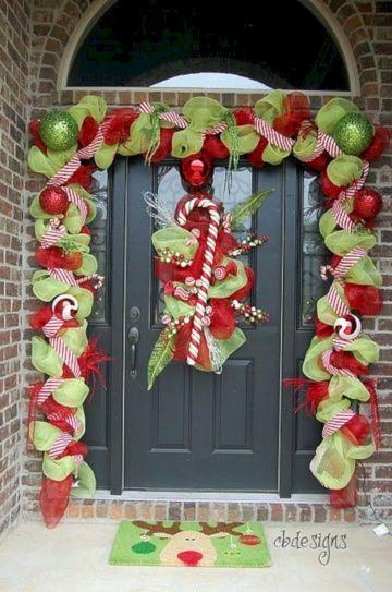 Door Christmas Decoration