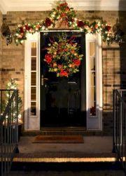 Front Door Christmas Decorating