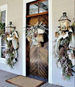 Front Door Winter Decorations