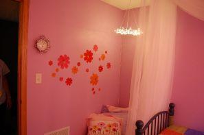 Pink Fairy Lights Bedroom