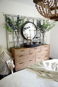 Rustic Farmhouse Style Master Bedroom Ideas 12