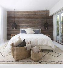 Rustic Farmhouse Style Master Bedroom Ideas 35