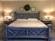 Rustic Farmhouse Style Master Bedroom Ideas 37