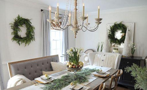 Best Farmhouse Dining Room Christmas