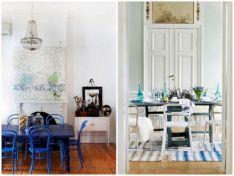 Blue Dining Room Inspiration