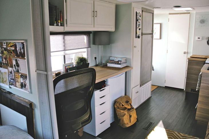Camper Trailer Interior Remodel Ideas