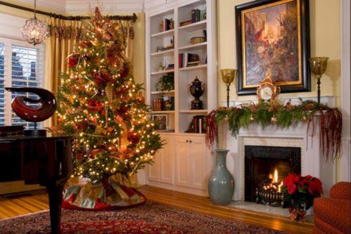 Christmas Living Room Decor Ideas Design