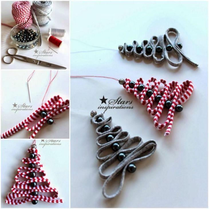 Christmas Tree Ornaments DIY