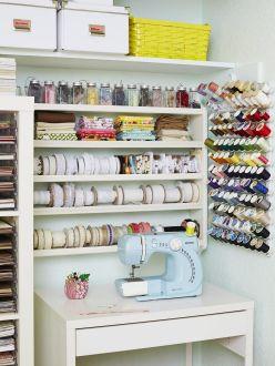 Craft Room Sewing Storage Ideas