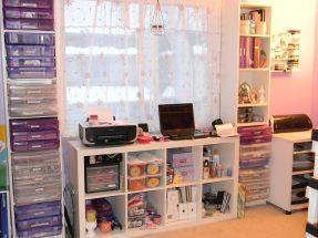 Craft Room Storage Design Idea