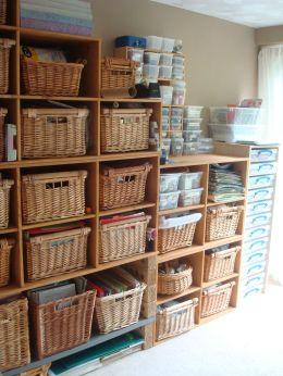 Craft Room Storage Design