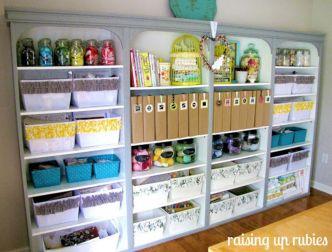 Craft Room Storage and Organization Ideas