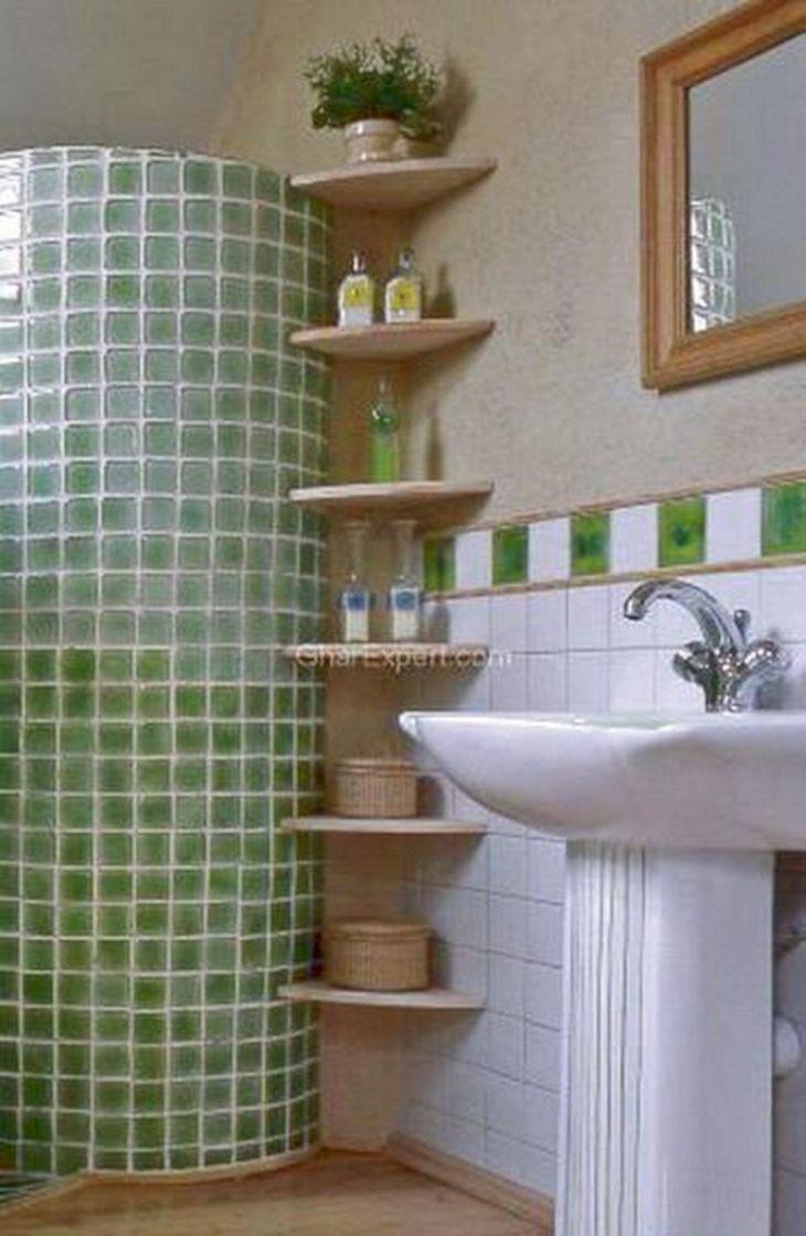 Creative Bathroom Storage Idea