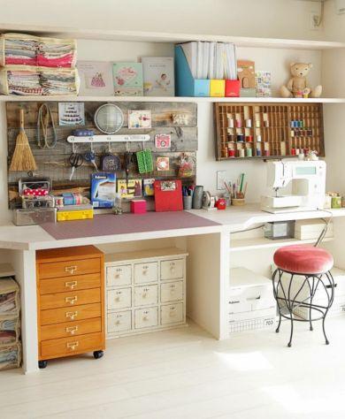 Creative Craft Room Storage Ideas