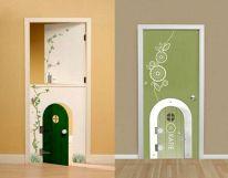 Creative Interior Door Idea