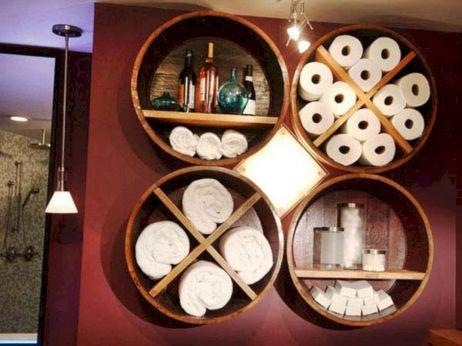 DIY Bathrooms Storage Ideas