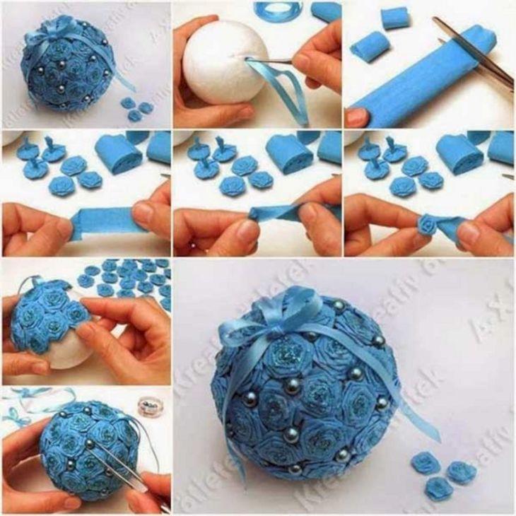 DIY Christmas Ball Ornament Ideas