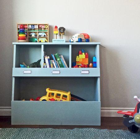 DIY Toy Storage Shelves Ideas