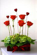 Flower Valentine Florals Arrangements